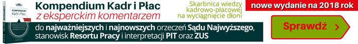 KOMPENDIUM KADR i PŁAC nowe wydanie na 2018 rok