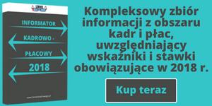 E-book - Informator Kadrowo - Płacowy 2018