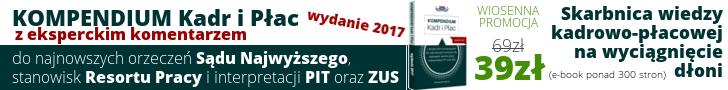 KOMPENDIUM KADR i PŁAC wydanie 2017