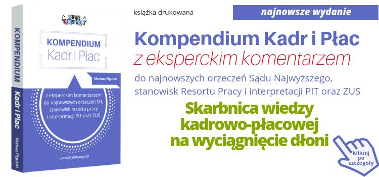 Kompendium Kadr i Płac 2018