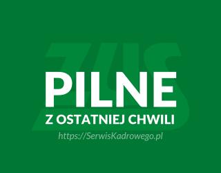 PILNE ZUS