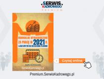 Minimalne wynagrodzenie za pracę w 2021 roku